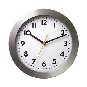 Aluminum Hanging Wall Clock